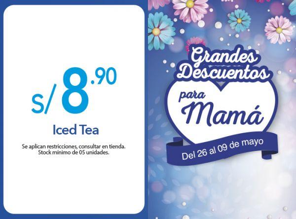 ICED TEA A S/ 8.90 - Frutix - Mall del Sur