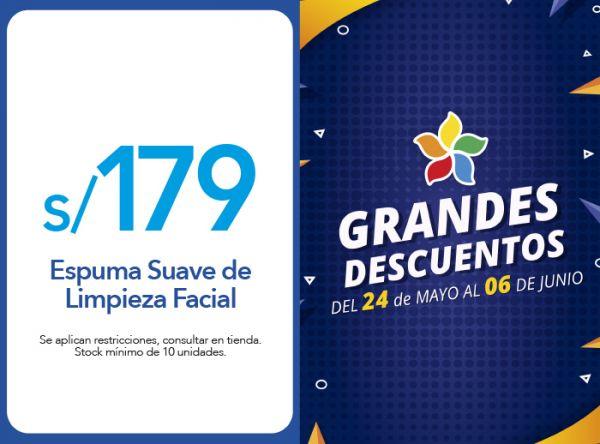 ESPUMA SUAVE DE LIMPIEZA FACIAL A S/179.00 - Plaza Norte