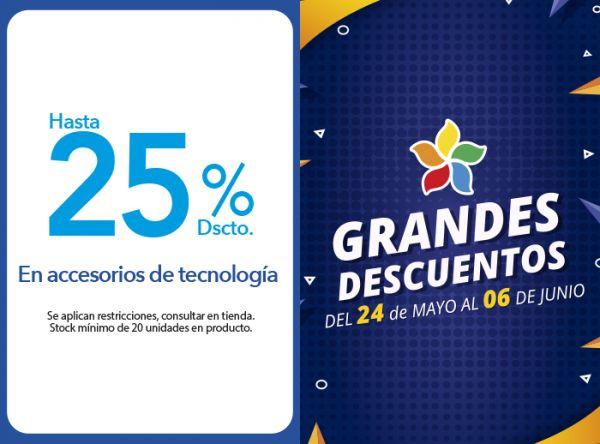 HASTA 25% DSCTO. EN ACCESORIOS DE TECNOLOGÍA - Plaza Norte