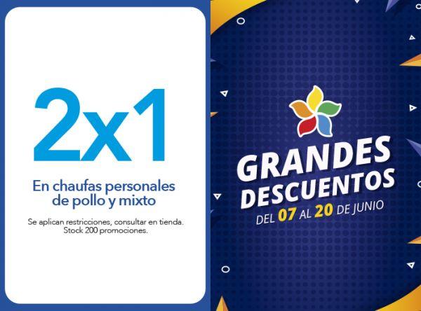 2 X1 EN CHAUFAS PERSONALES DE POLLO Y MIXTO - Plaza Norte