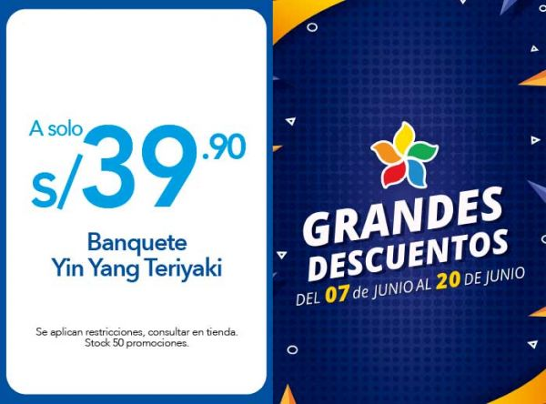 BANQUETE YIN YANG TERIYAKI A S/ 39.90 - Plaza Norte