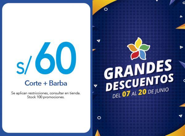 CORTE + BARBA A S/60.00 - Plaza Norte